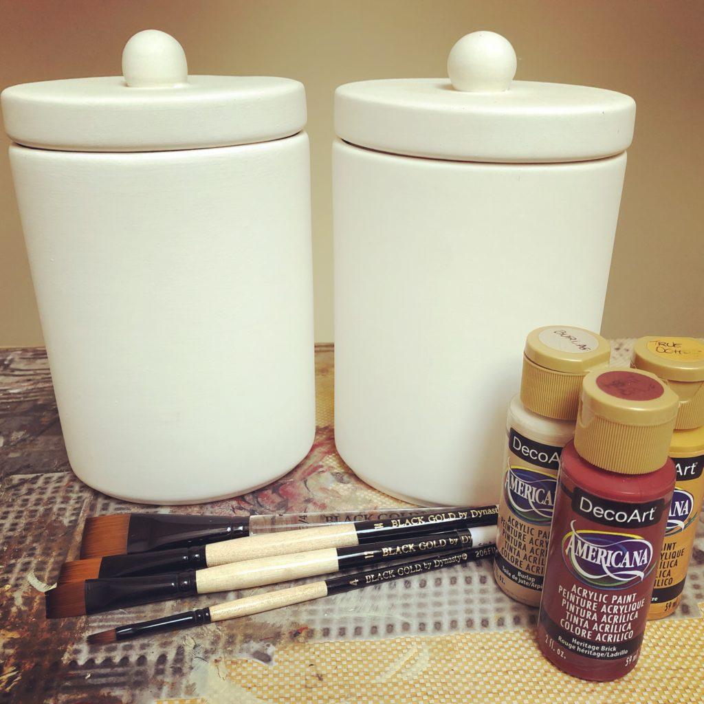 Country Painting: pittura su ceramica