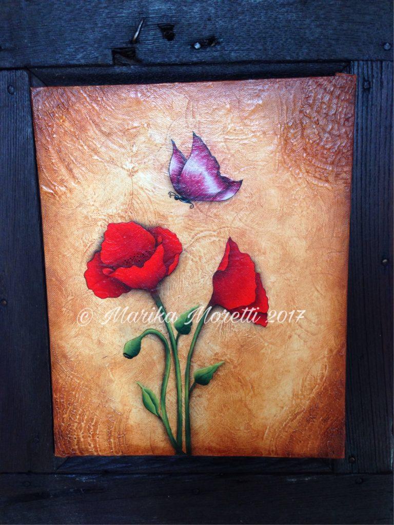 Pittura Decorativa: dipingere sulla tela