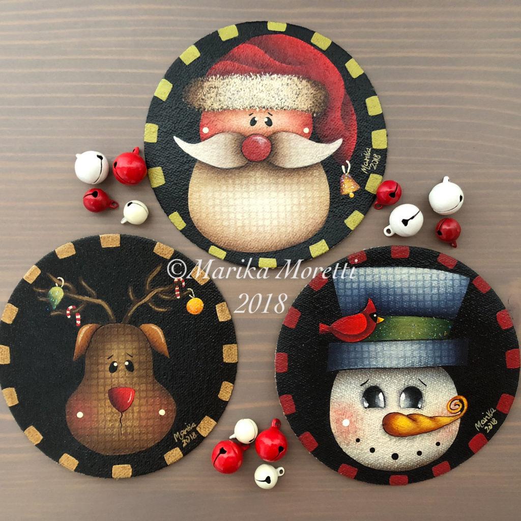 Pittura Country: pattern per le tue prossime decorazioni di Natale