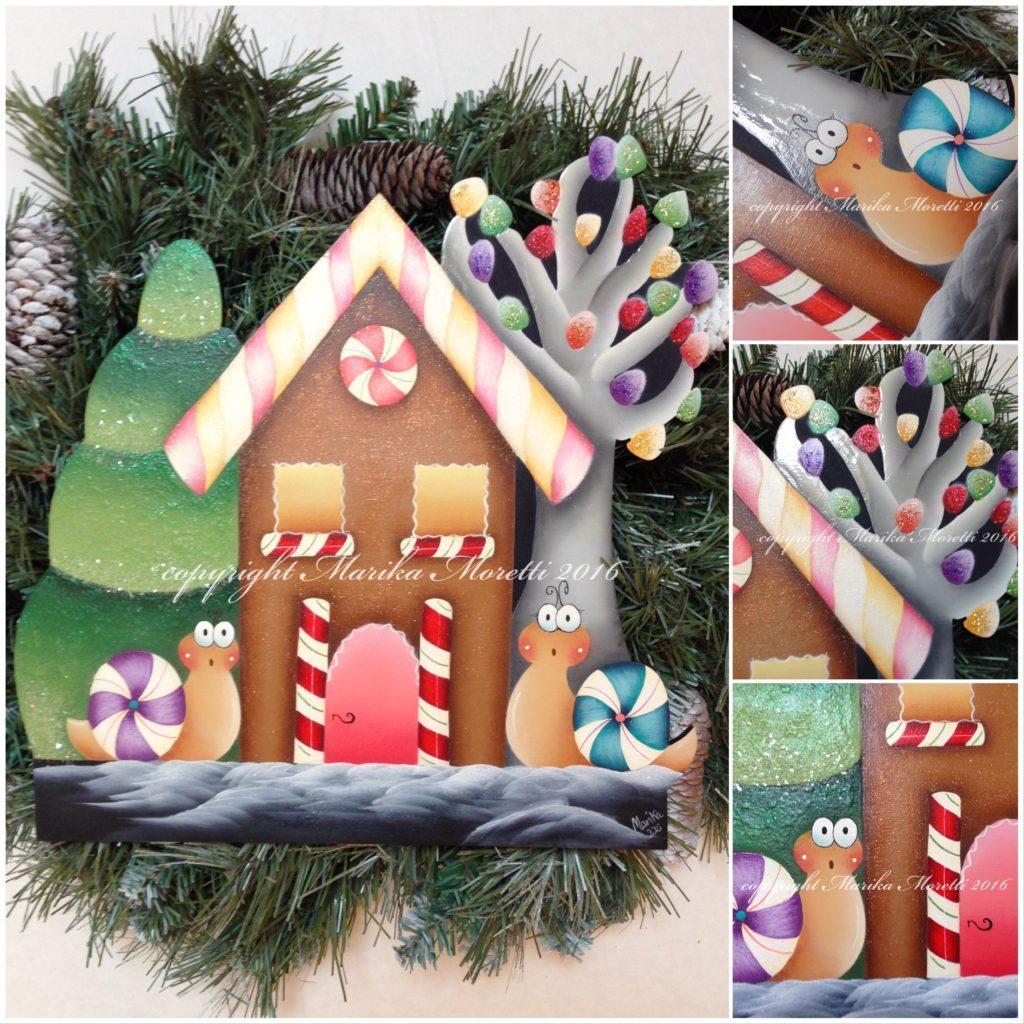 Pittura Country Fuoriporta Natale