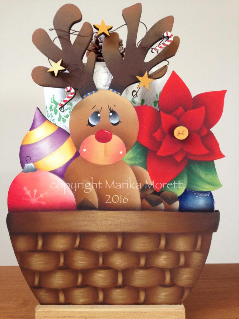 Pittura Country: Waiting for Christmas è un progetto per aggiungere qualcosa in più alle tue decorazioni di Natale