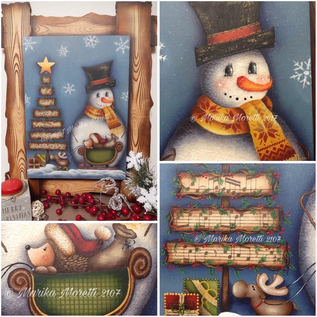 Pittura Country: progetto per decorare il tuo Natale