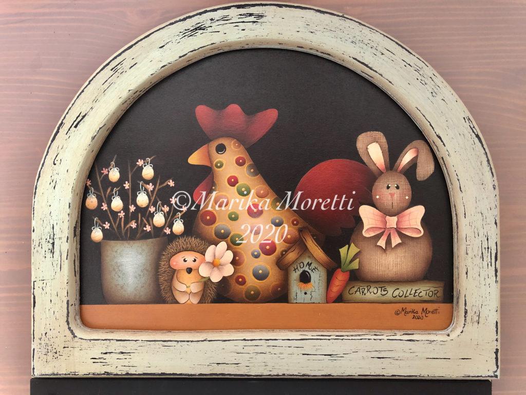 Seasonal Notes Spring è un delizioso progetto di Country Painting per decorare la tua Primavera