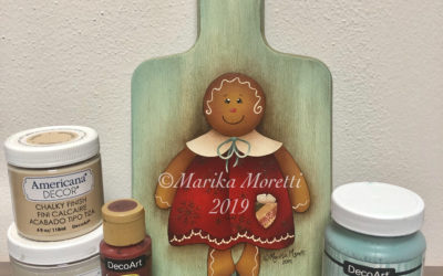 Decorazione di Natale in stile Country Painting