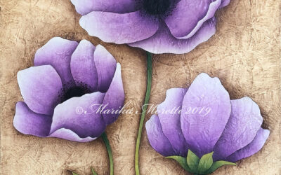 Video lezione di Country Painting: Purple Beauty