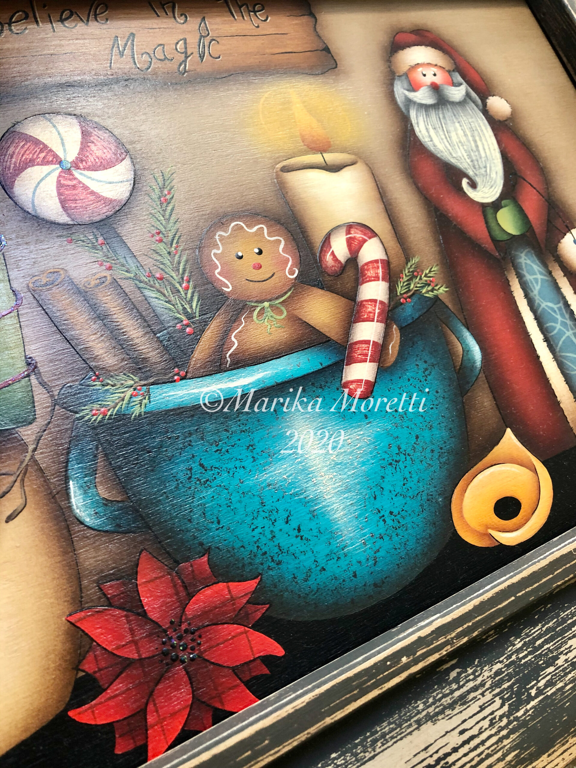 Country Painting Natale