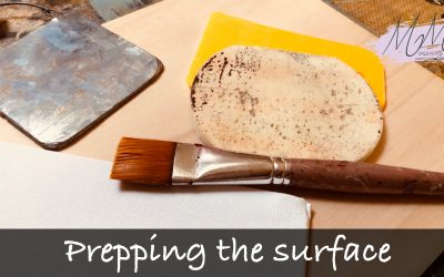 Decorative Painting tutorial: how to prepare the surface