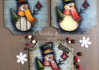 3-Time snowman